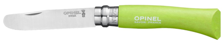 My first OPINEL VR N°07 Inox, apple green