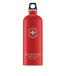 Lahev SIGG Swiss Emblem Red Touch 1 l